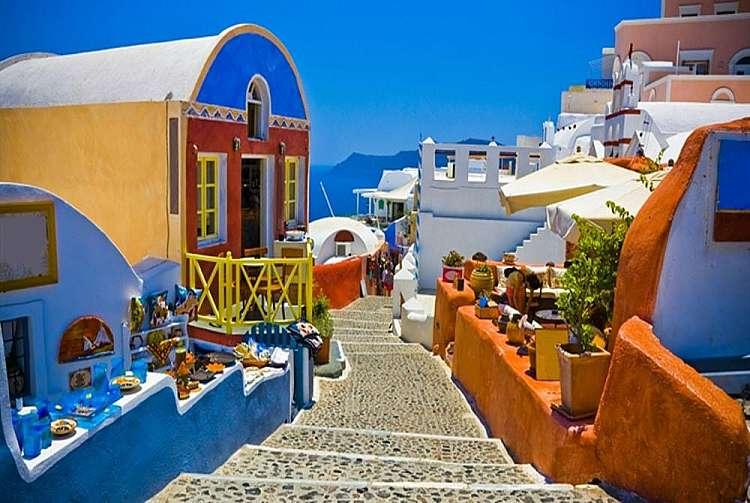 Estate a Santorini