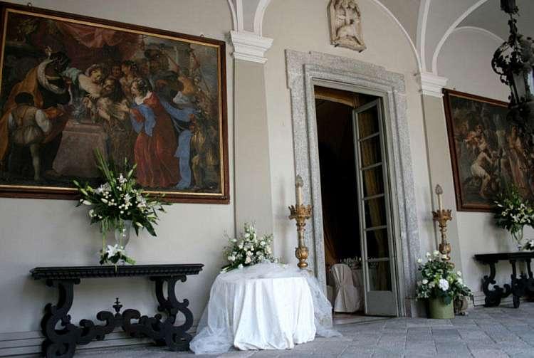 Ingresso Villa Taverna