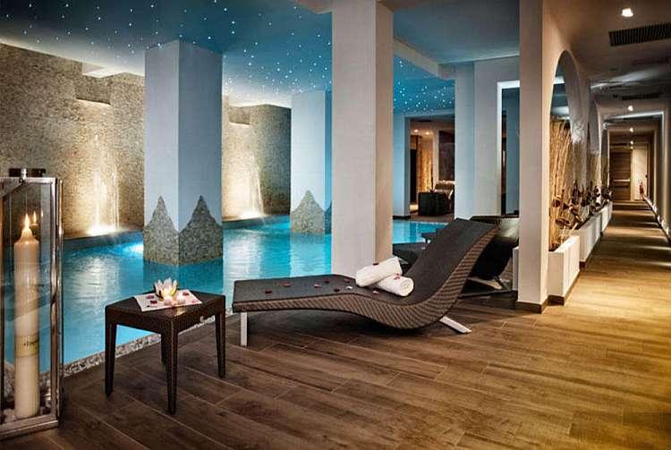 Area relax dell'hotel