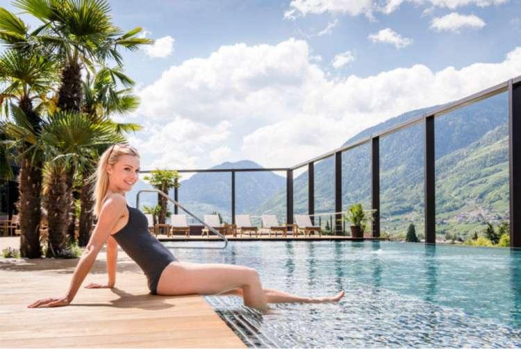 Piscina Hotel Terme di Merano