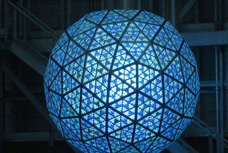 New Year's Ball Drop