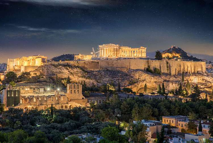 Partenone e Acropoli