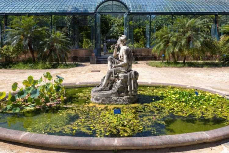Particolare del Giardino Botanico