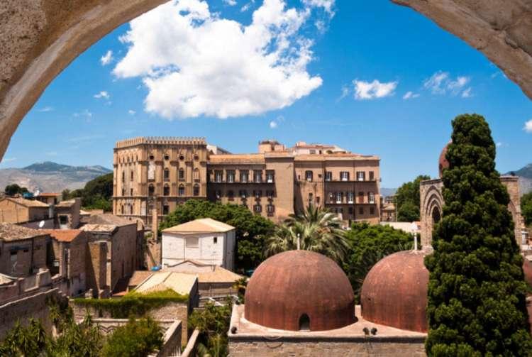 Vista Palazzo dei Normanni