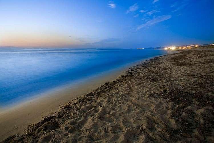 La spiaggia di Valledoria