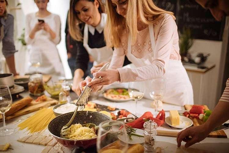 Corsi di cucina interattiva