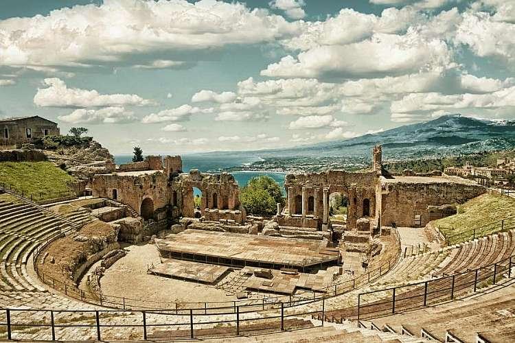 Teatro greco - Taormina