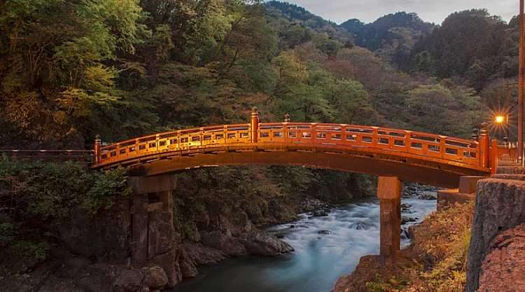 Ponte Giapponese a Nikko