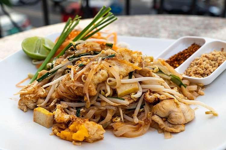 Piatto tipico thailandese