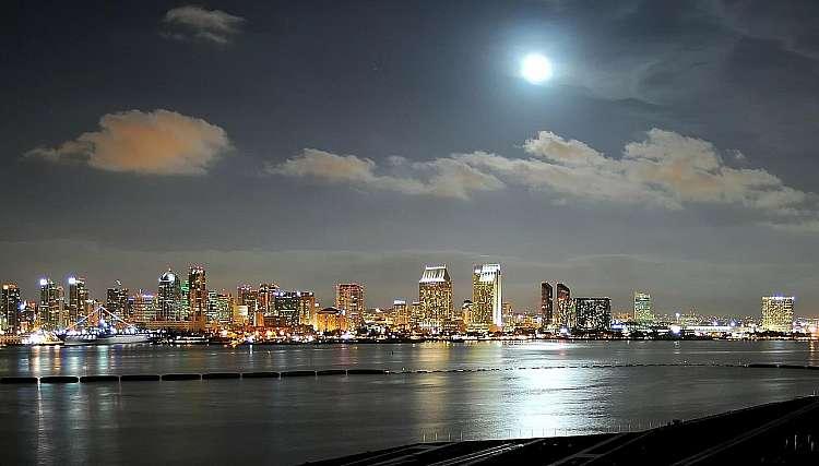 Veduta di San Diego
