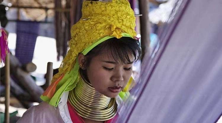 Chiang Mai, le donne giraffa