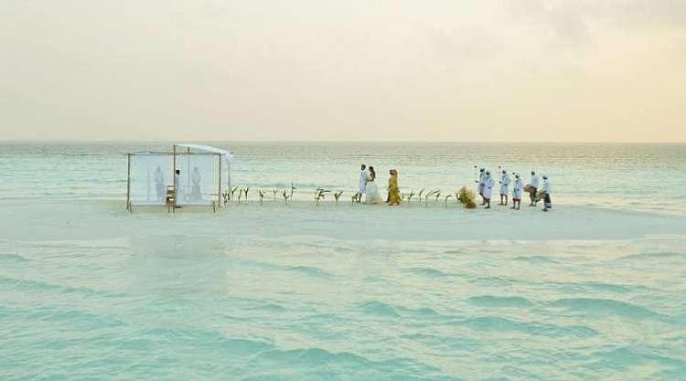 Immaginatevi di sposarvi qui...