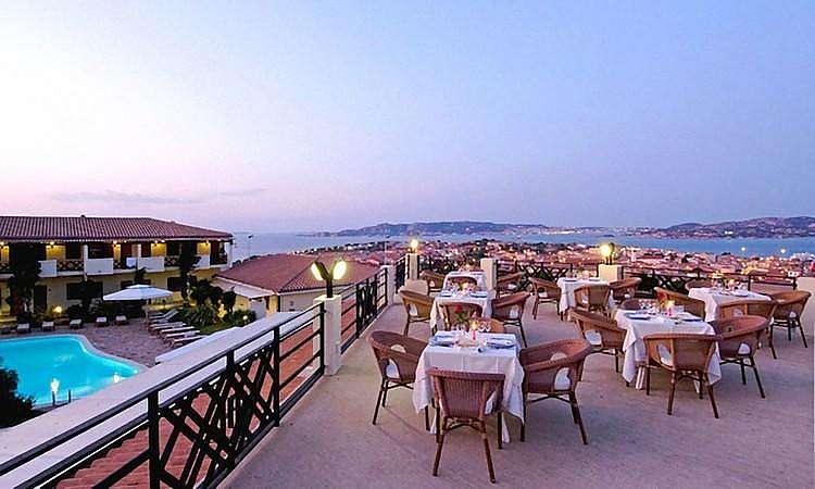 Cena con vista Hotel Palau