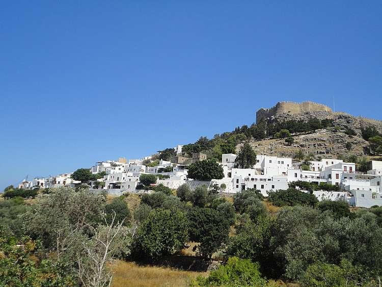 Il borgo di Lindos