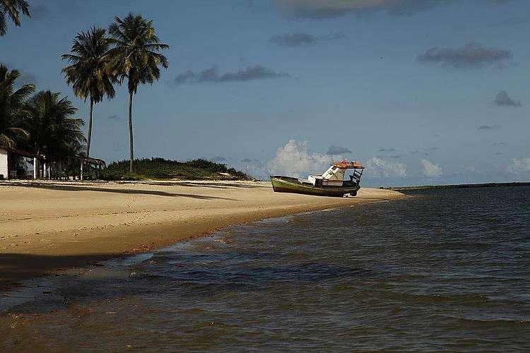 Praia de Baia da Traiçao