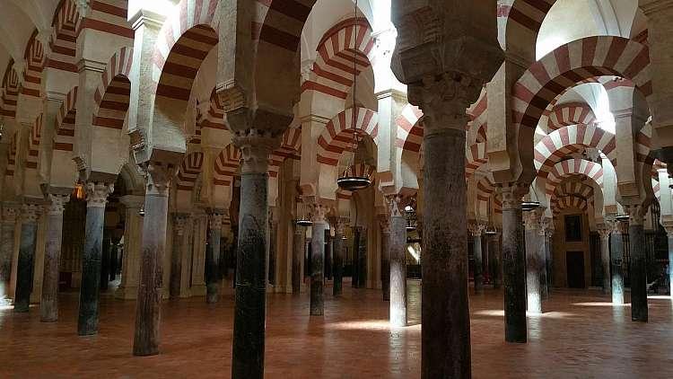 Interno della Mezquita di Cordoba