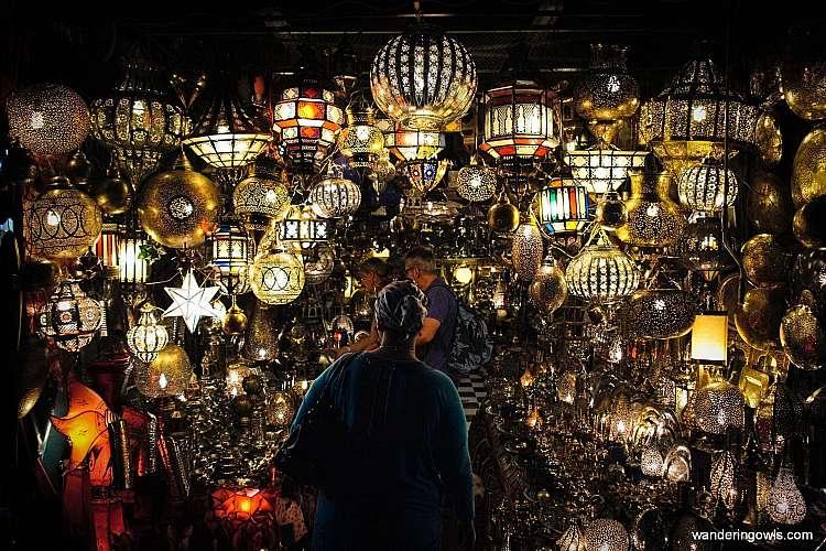 Souk Lampade_Marrakech