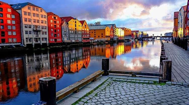 Trondheim, Viaggio fly&drive in Norvegia