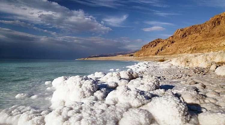 Paesaggio del Mar Morto