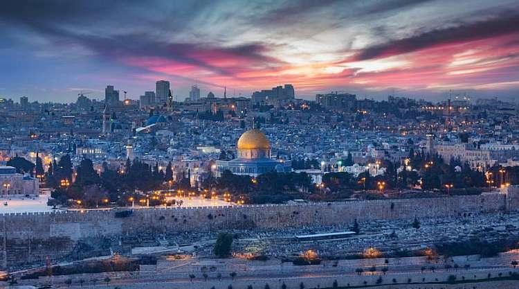 Panoramica di Gerusalemme