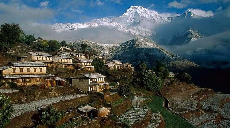 Nepal: Trekking Classico dell'Annapurna di 13 giorni con guida sherpa