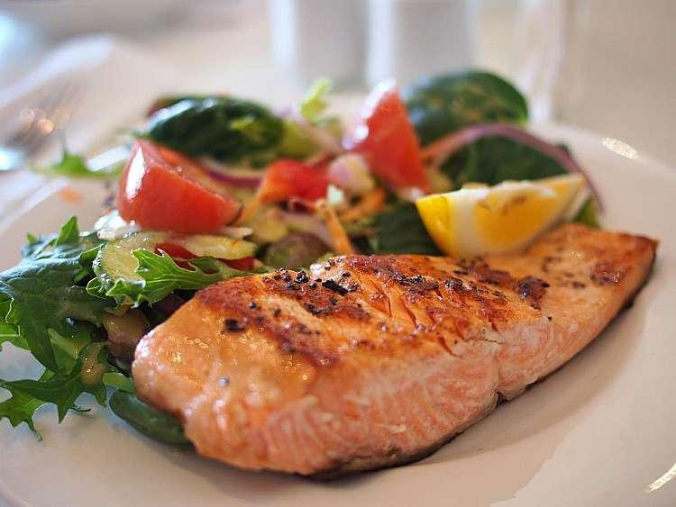Piatto tipico: salmone
