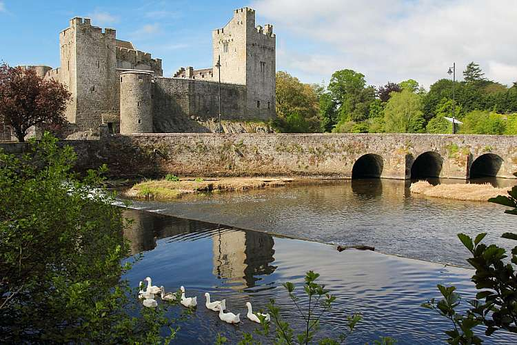 Cahir Irish castle of Cahir