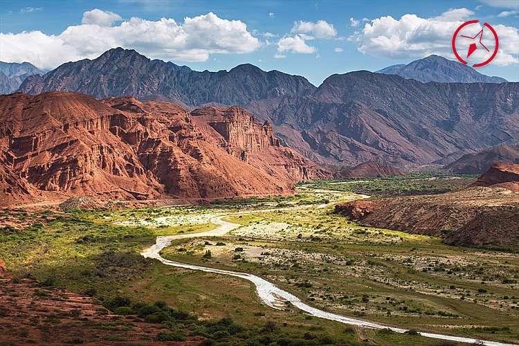 Quebrada de las Conchas, Argentina