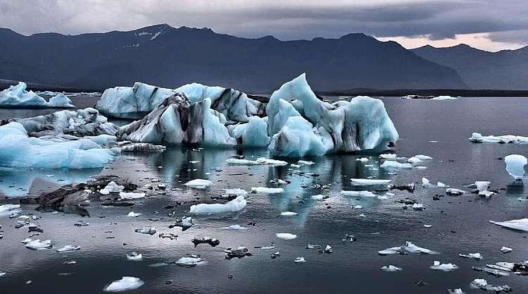 Iceberg in Islanda