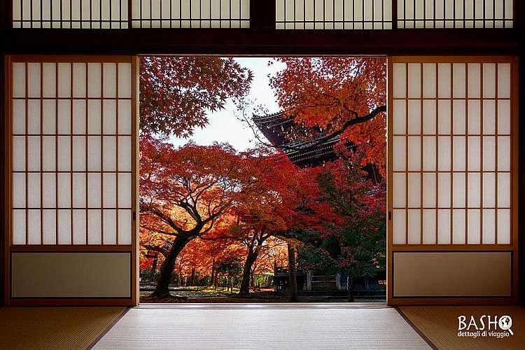 Traditional japanese doorway