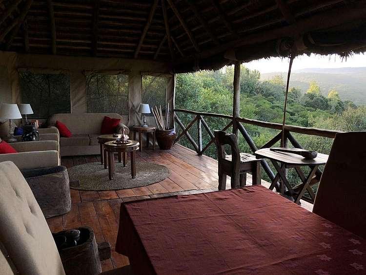 Uno dei lodge utilizzati durante il Safari