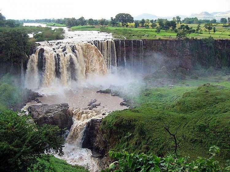 Cascate Nilo Azzurro