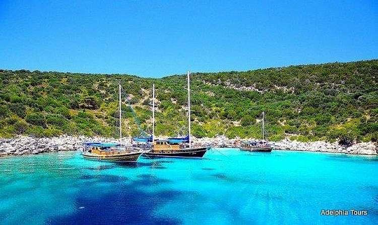 Crociera in Caicco in Turchia: fiordi e spiagge, un vero paradiso