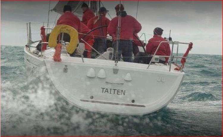 La nostra barca a poppa