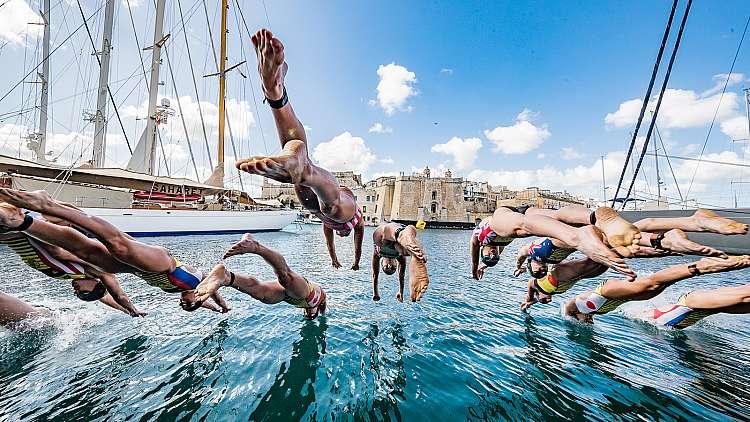Triathlon: Nuoto