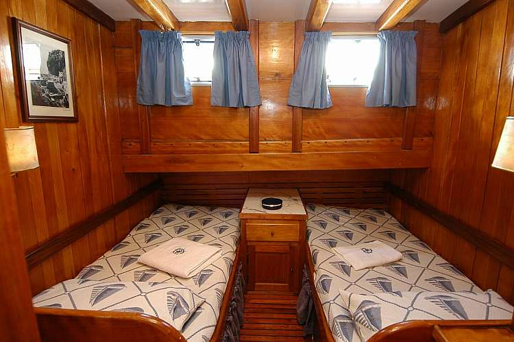 Cabina doppia letti separati