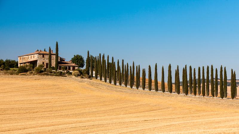 Ponte primo maggio tra le colline della Toscana