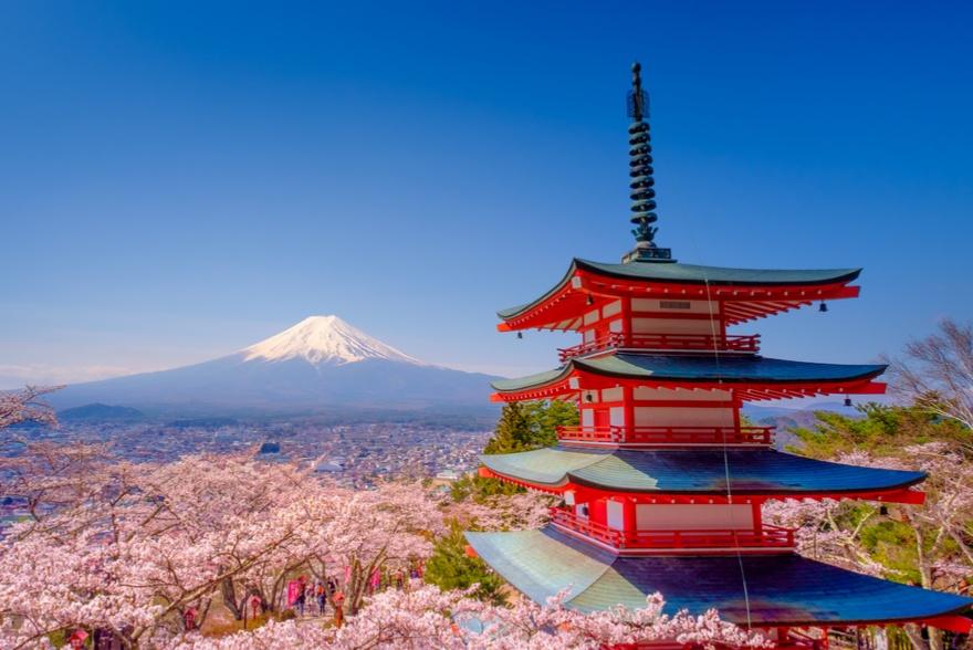 Viaggio in Giappone, hanami tour a 3580 euro