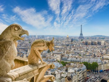 Romantico ponte 2 giugno a Parigi
