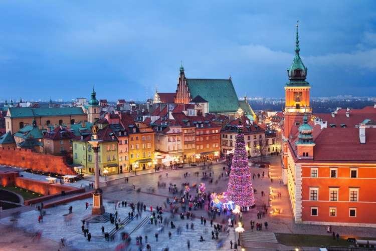 Mercatini di Natale in Polonia a 546 euro