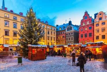Mercatini di Natale in Svezia a 334 euro solo colazione