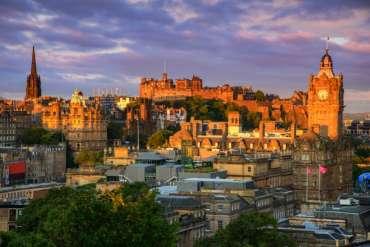 Vacanza a Edimburgo con sconto fino al 55% solo colazione