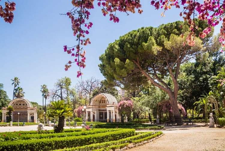 Giardini storici e Palermo medievale: luci e siti UNESCO