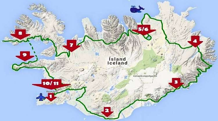 Viaggio Fly & Drive dei Fiordi: Noleggio auto e 11 notti da € 1515
