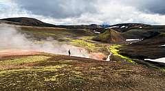 Viaggio Trekking Laugavegur: Landmannalaugar IN TENDA da € 1295,00