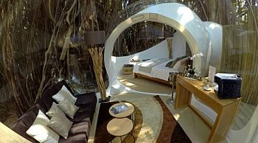 Soggiorna in Bubble Lodge sotto il cielo stellato di Mauritius mezza pensione