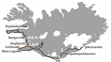 Tour in Islanda: 7 giorni con guida in italiano da 1.270 euro! solo colazione