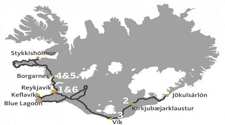 Tour in Islanda: 7 giorni con guida in italiano da 1.270 euro!