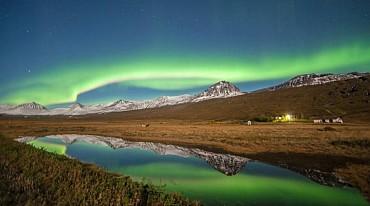 Spedizione aurore dall'Islanda alla Groenlandia da € 2470 a pax solo colazione