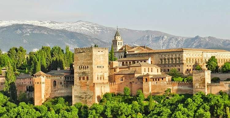 Gran Tour dell'Andalusia. SCONTO SPECIALE. Prenotazione on line